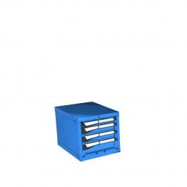 0400mmH Ladenkast-4 laden  (18x27Eh)