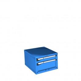 0400mmH Ladenkast-2 laden  (27x36Eh)