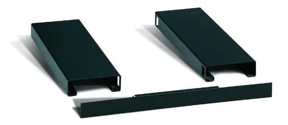 Afdekplaat voor sokkelpaar t.b.v. verplaatsen met heftruck